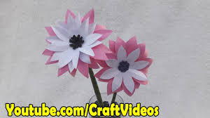 Paper Flower Craft Easy Peasy And Fun Simple Step By DIY Papers Made Ideas For Kids Diy How To Make