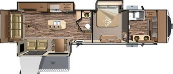 5th Wheels With 2 Bedrooms by 2016 Open Range 3x Fifth Wheels 3x397fbs By Highland Ridge Rv