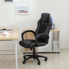 Ebay Computer Desk Chairs by Office Chair Ergonomic Computer Mesh Pu Leather Desk Seat Race Car