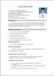 Sample Resume Word Doc