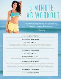 GET FIRED UP 5 Minute ABS