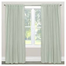 Annas Linens Curtain Panels by White Linen Curtains Target