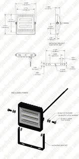 Ingress Heat Sink Calculator by 30 Watt Led Flood Light Fixture Low Profile 2 850 Lumens Led