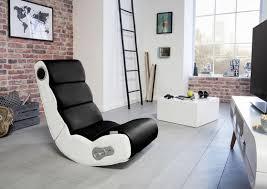 gamingstuhl wobble b 56 cm schwarz weiß