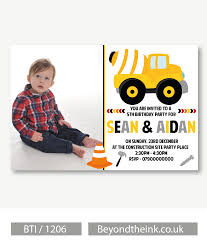 Personalised JCB Digger Photo Invitation | Beyond The Ink Dump Truck Baby Shower Invitation Hitachi Eh5000 Aciii Gold 187 Trucks Pinterest Cstruction And Tiaras Sibling Birthday Invitations Printed Invites Heavy Equipment Free Christmas Templates New Party Images Of Garbage Design Lovely Invite Digital Clipart Truck Cement Bulldoser Perfect Mold Card Printable Diy Boy Mama A Trashy Celebration Day The Dead Cam Newton In Car Crash With
