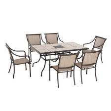 hton bay 7 patio dining set home depot