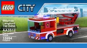 100 Custom Lego Fire Truck ArtStation LEGO Ladder Steve Langford