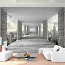 fototapete 3d new york vliestapete grau wohnzimmer