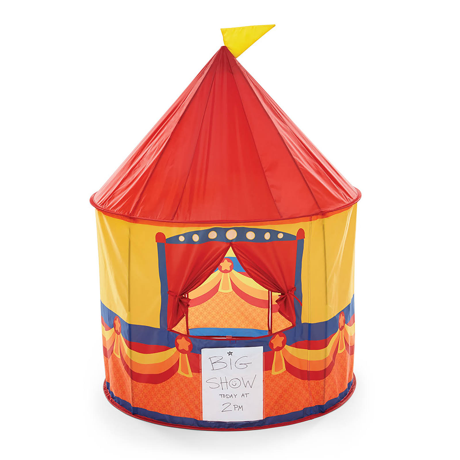 Kidoozie Pop-Up Theatre Tent Toy - Multi-Colored