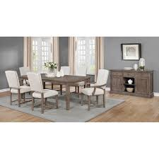 The Gray Barn Peaceful Peregrine Upholstered Nailhead Trim Arm Chairs (Set  Of 2)