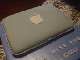 The Simple Cake Apple Laptop puter Cake