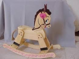wood rocking horse foter