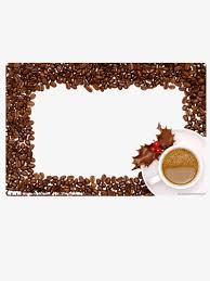 Coffee Border Beans Drink PNG Image And Clipart