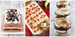 easy no bake dessert recipes 27 easy no bake desserts best recipes for no bake treats