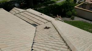 concrete barrel tile roof cleaning