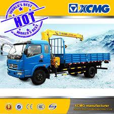 100 Truck Mounted Crane China Lorry XCMG 3ton Telescoping Boom