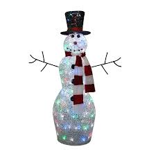 Harrows Artificial Christmas Trees by Remarkable Decoration Lowes Outdoor Christmas Decorations Shop At