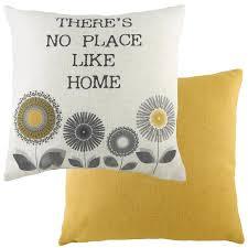 100 Ochre Home Retro Cushion