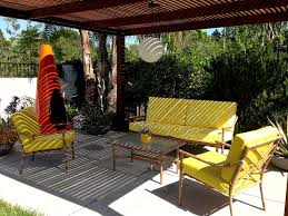 Mid Century Patio Furniture Lovely Decoration Modern Outdoor Fancy Ideas With Regard To