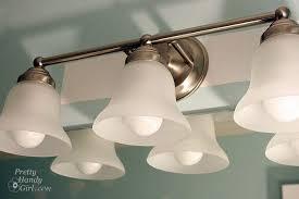 extraordinary charming unique bathroom light fixture with