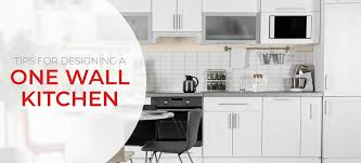 100 Kitchen Design Tips One Wall Layouts And Inspiration