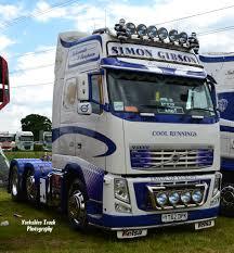 100 Gibson Truck Simon Volvo FH13 Globetrotter XL 540 YT62 DPK