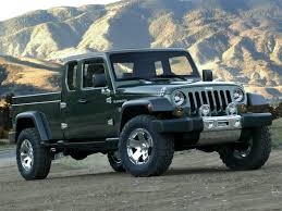 100 6x6 Truck Conversion 2020 Jeep Gladiator Pickup Rendered As