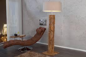 stehle holz designerleuchte 160cm aus echtem teakholz