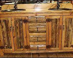 Ashfield Faucet Rustic Bronze by Rustic Cabin Bathrooms Rustic Bathroom Vanity Rustic Log Cabin
