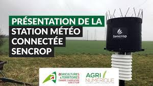 chambre d agriculture eure et loir présentation de la station météo connectée sencrop