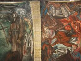Jose Clemente Orozco Murales Hospicio Cabaas by Jose Clemente Orozco L U0027uomo In Fiamme La Bottega Del Pittore