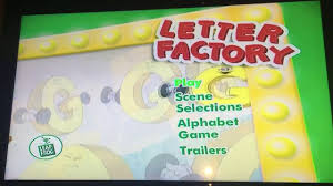 LeapFrog Letter Factory 2003 DVD Menu Walkthrough YouTube