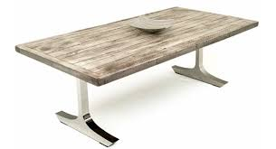 Reclaimed Contemporary Rustic Dining Table