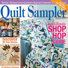 Quilt Sampler Table of Contents Fall Winter 2014