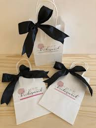 Will You Be My Bridesmaid Bag Gift Proposal Maid Of Honor Asking Bridal Party Box