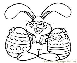 Free Printable Easter Chick Coloring Sheets Bunny