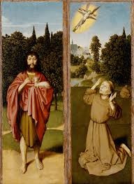 the baptist francis receiving the stigmata