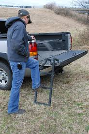100 Truck Tailgate Steps Pickup Step LadderEasily Removed Folds Out Of