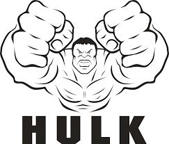 Coloring Page Hulk Superheroes 42