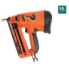 18 Gauge Floor Nailer Home Depot by Paslode Cordless 16 Gauge Angled Lithium Ion Finish Nailer 902400