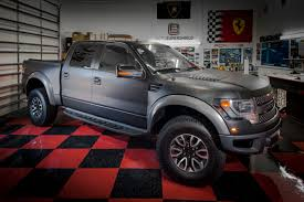 The 2013 Ford Raptor - Check Out This Stunning Vehicle With A Satin ...