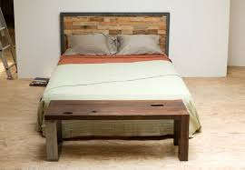 Cool Homemade Headboards With Ceramic Floor And Khaki Bed Cover