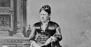 1876 President Ulysses S Grant Julia Dent Family