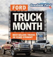 Gresham Ford - Your Oregon Ford Dealership: 2016 Gullo Ford Of Conroe The Woodlands Its Truck Month At Big Savings During Rusty Eck 2017 Youtube 1566 On Vimeo In Columbus Texas Champion Lincoln Mazda Owensboro Ky Specials Dallas Dealer Park Cities Is Coming Soon To Best Nashua Brandon Ms Ashland Chrysler Wi Paul Miller October 2013 Sales Fseries Still Rules Ram Approaches