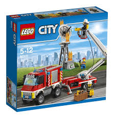 LEGO Creator LEGO Fire Utility Truck 60111 - £30.00 - Hamleys For ...