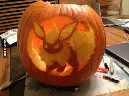 Puking Pumpkin Pattern Free by I Carved A Flareon Pumpkin Pumpkin Ideas And Pumpkin Carvings