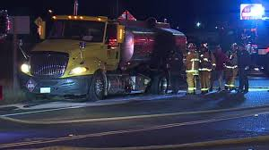 100 Tanker Truck Explosion Burning Fuel Tanker Forces Evacuations In Lakeside