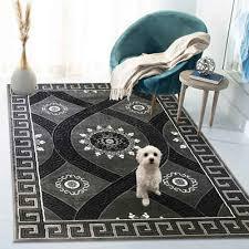 teppich grau 1084 siela quadratisch höhe 8 mm kurzflor modern designer grau wohnzimmer shclafzimmer hochwertig