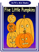 Printable Pumpkin Books For Preschoolers by Dltk U0027s Make Your Own Books Five Little Pumpkins