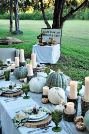 Top 14 Rustic Thanksgiving Table Setting Designs Cheap Easy Party Decor Project